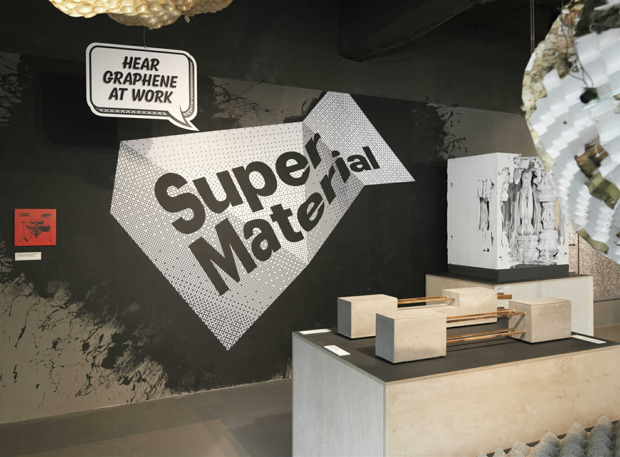 SuperMaterial exhibit at the Building Centre in London