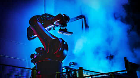 Adidas Speedfactory robot in the workforce located in Ansbach, Germany.