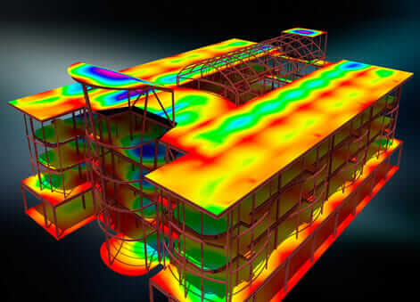 Heat map visualization in the future of buildings
