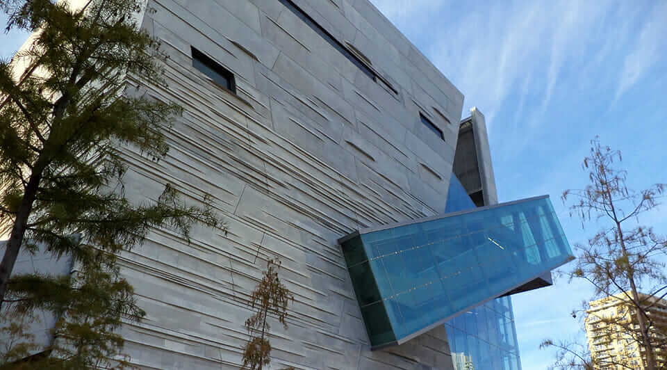 deisgn assist perot museum side view