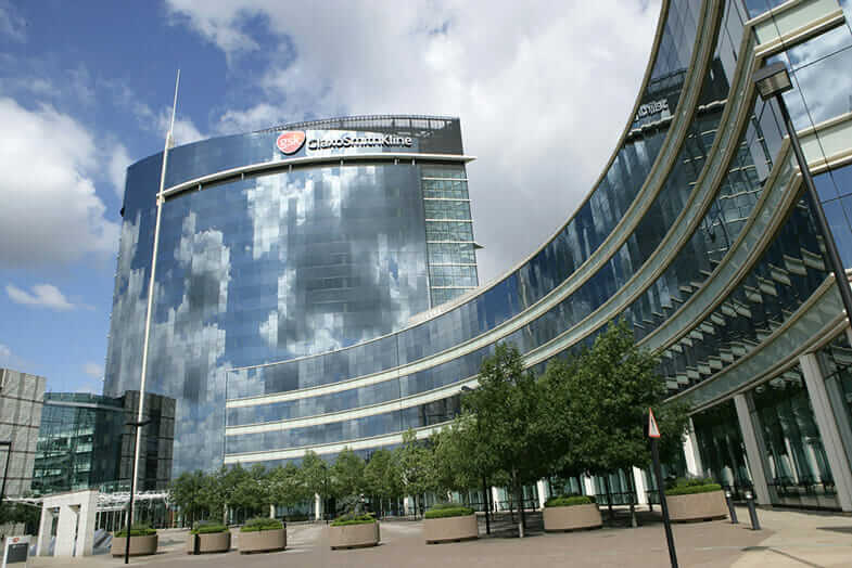 GSK House, home to one of the world's largest 3D printing pharmaceutical companies.