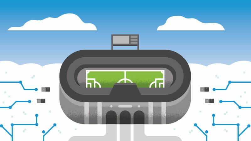 engineering economics stadium graphic