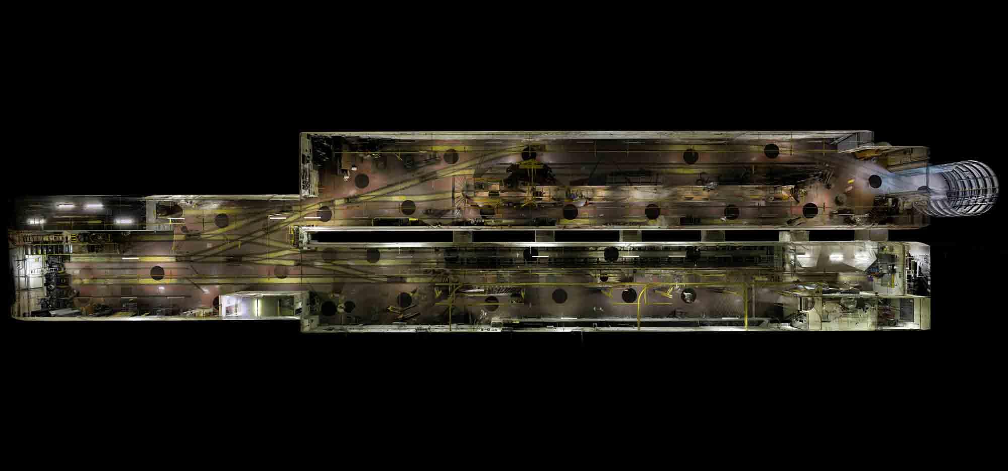 london postal museum 3D LiDAR scan