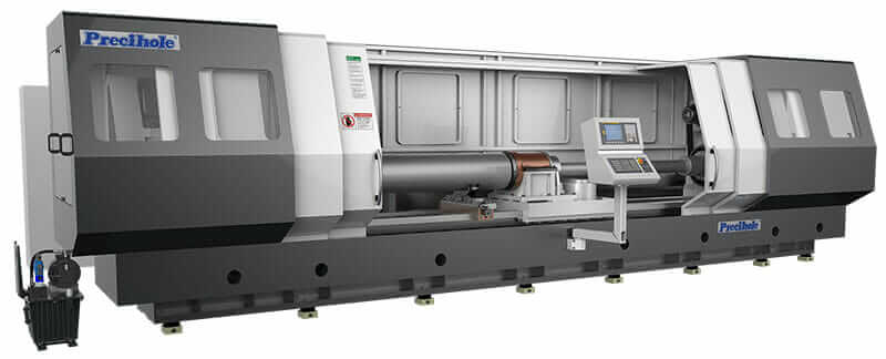 machine tool design deep hole drilling machine