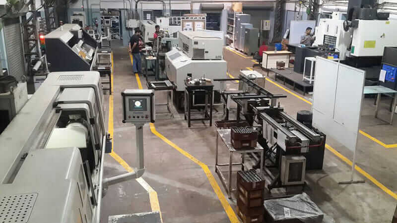 machine tool design sports manufacturing plant