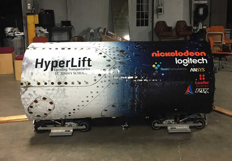 hyperloop pod competition hyperlift pod