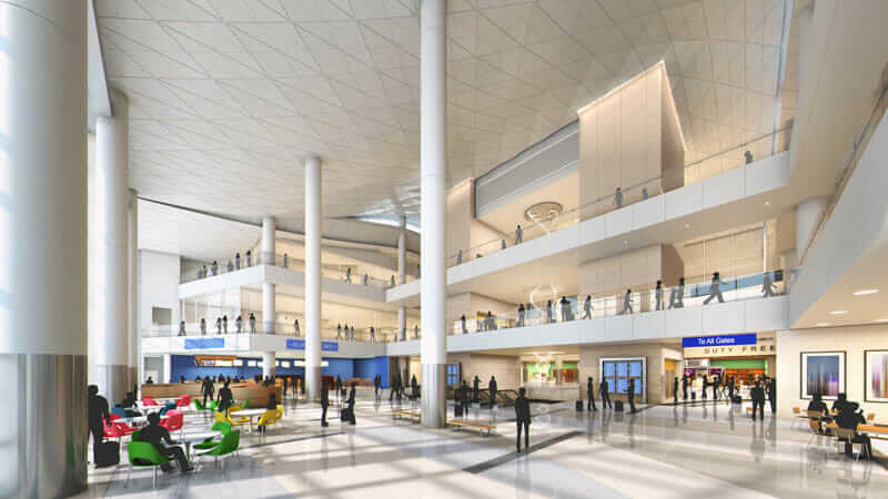 4 International Airport Designs Showcasing the Future of Travel