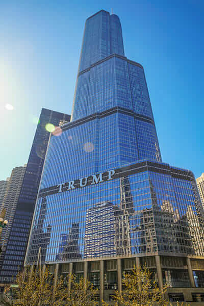 climate agreement green building Trump Tower Chicago
