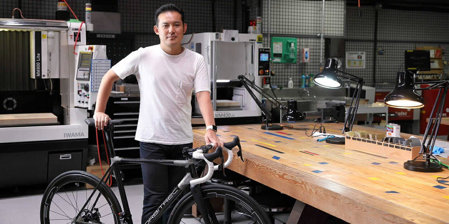 ORBITREC 3D-printed bike