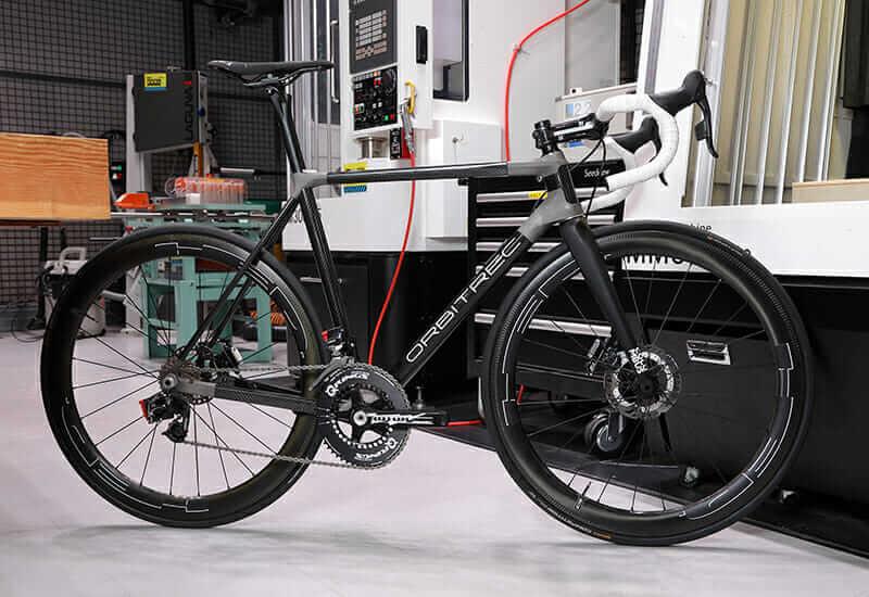 ORBITREC 3D-printed bicycle