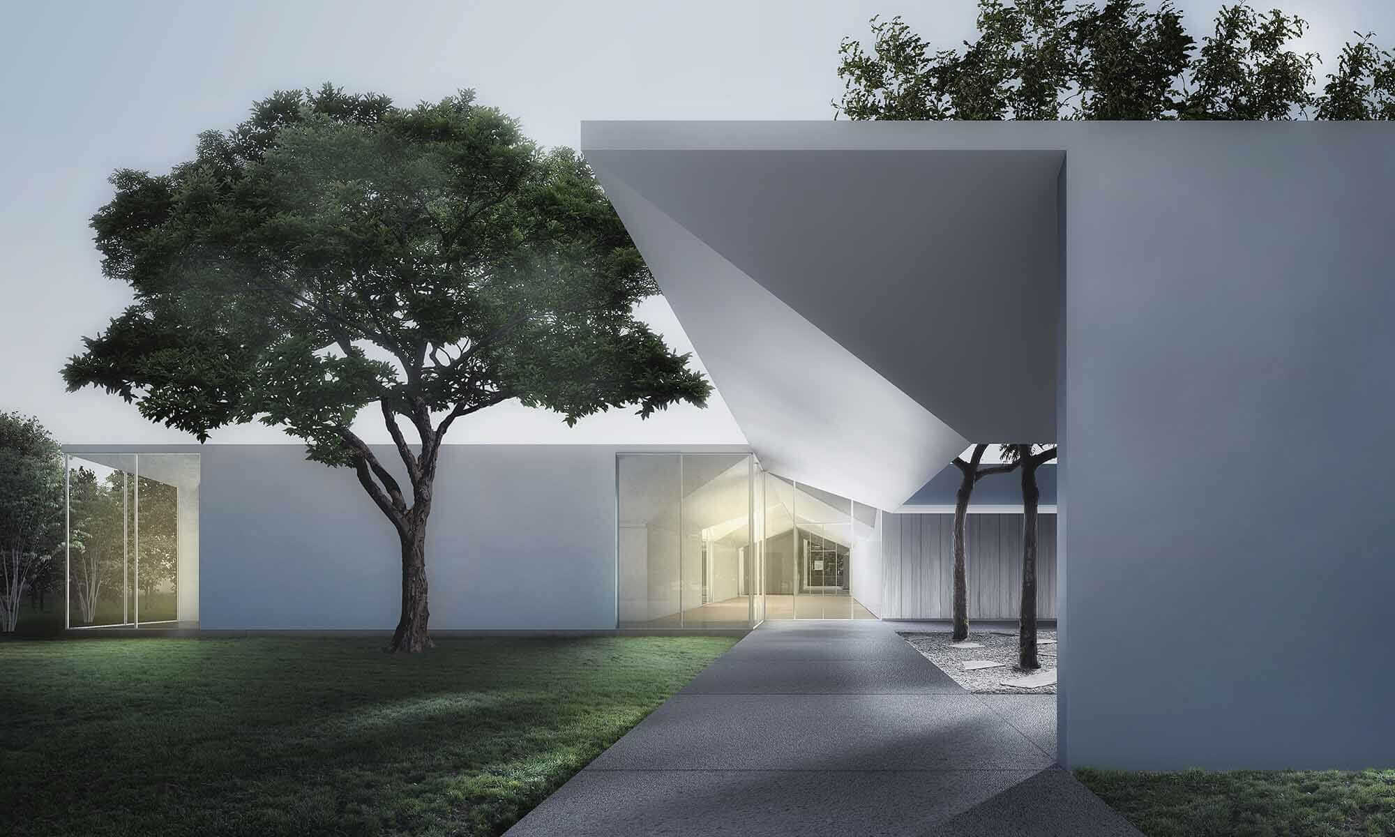 johnston marklee Menil Drawing Institute rendering