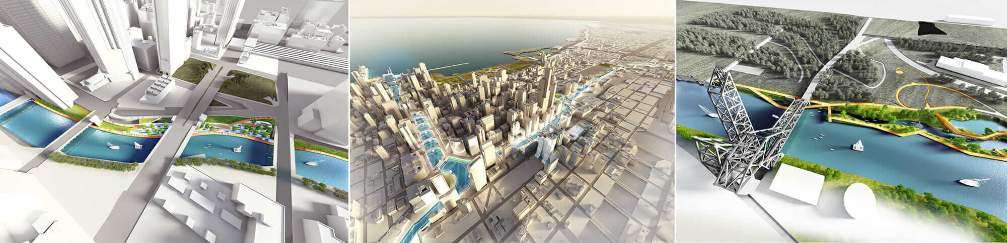 chicago river edge ideas lab rendering