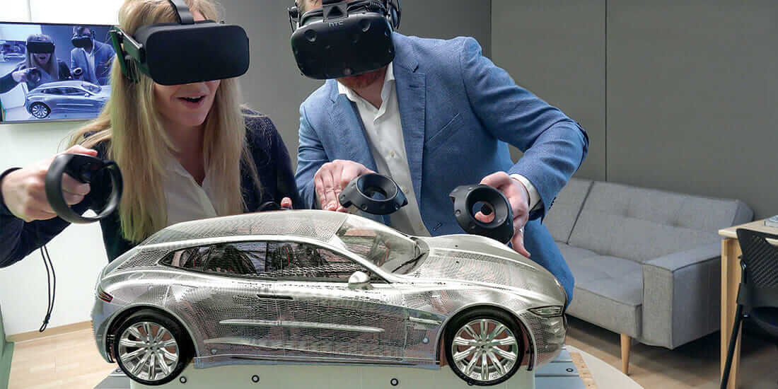 NextGen Virtual Reality Will Let You Create From Scratch Right - Upper cape tech car show