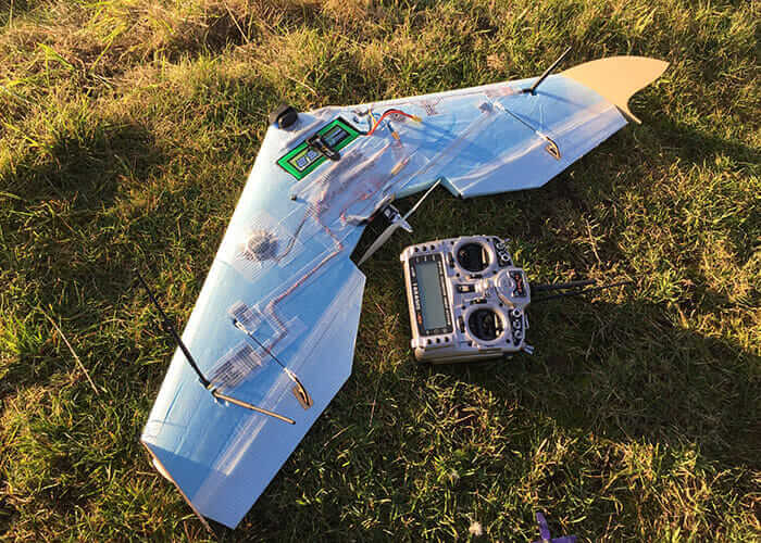unmanned aerial vehicle prototype