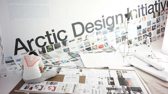 The Arctic Design Initiative exhibition.
