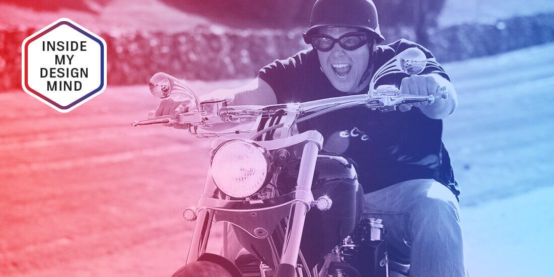 jason pohl riding a motorcycle