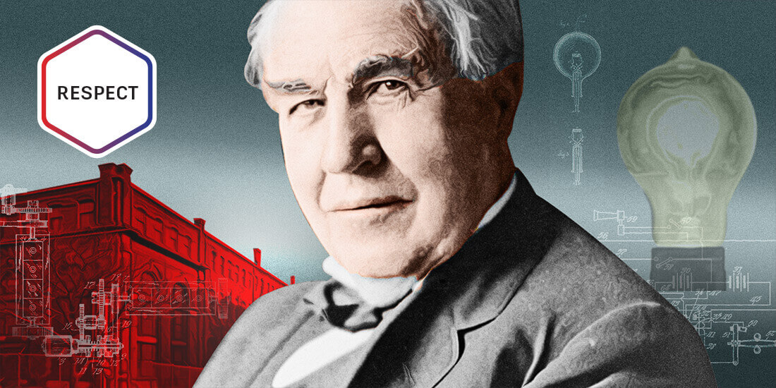 Thomas Edison Header