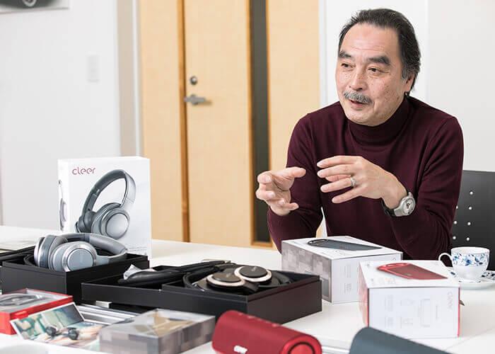 audio product design hiroki oka nichinan corp
