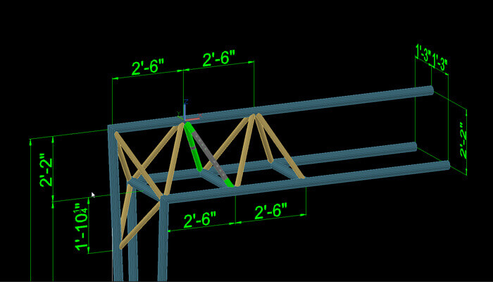 steel fabricators detailing in 3D