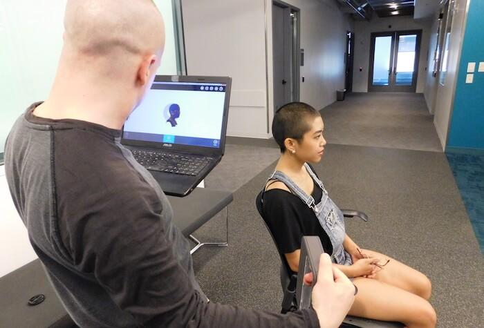 brain-computer interface 3D Systems Sense Scanner