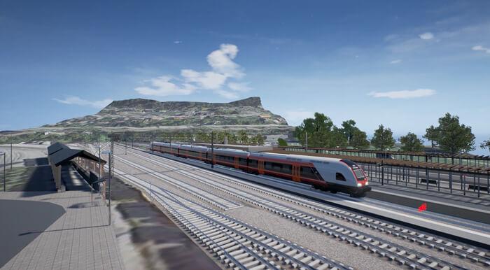 Ulriken rail tunnel Norconsult