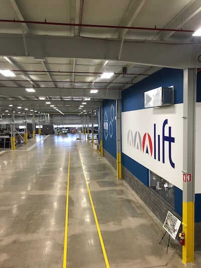 manufacturing in detroit LIFT public-private building space model