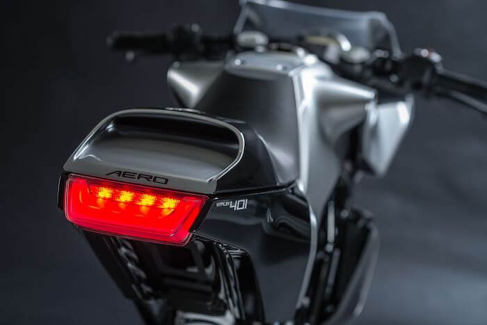 motorcycle design Vitpilen 401 Aero