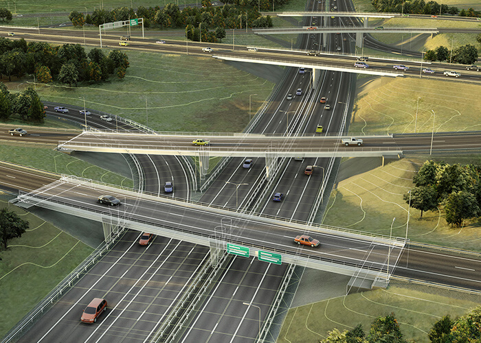 BIM and GIS data for better road design and management.