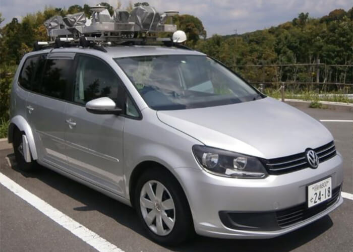 NEXCO mobile mapping system in use for smart highway design