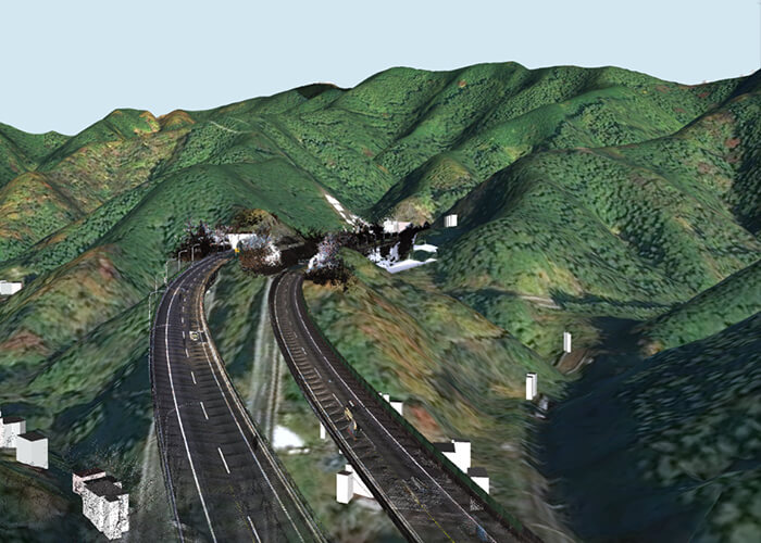 nexco cim used to relieve traffic congestion kobotoke tunnel