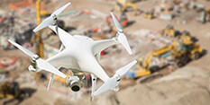 drones improve construction