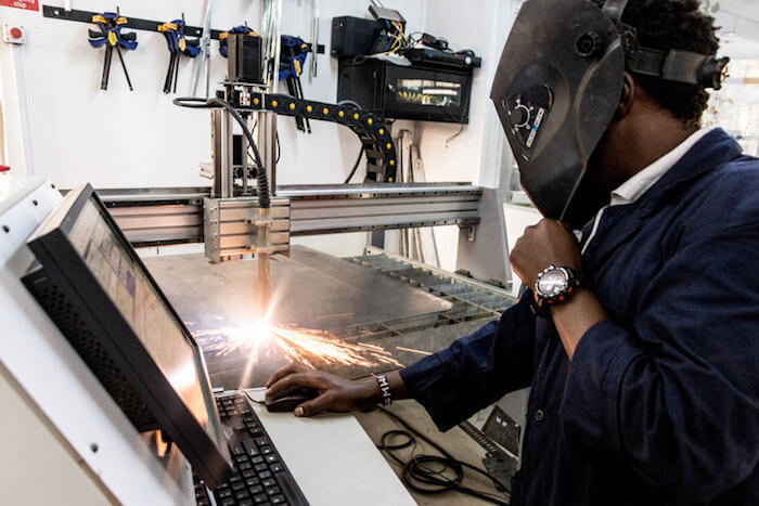 manufacturing jobs kenya gearbox makerspace
