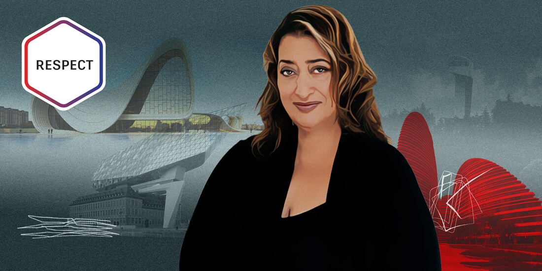 Respect: Architect Zaha Hadid, Queen of the Curve