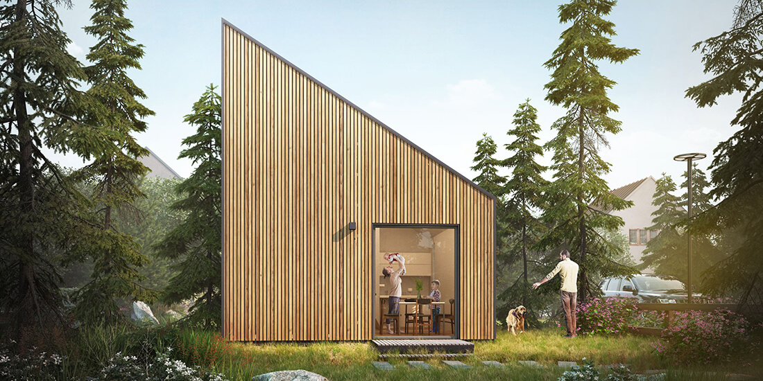 How Positive-Energy Building Can Create Tiny Houses With a Big, Green Impact