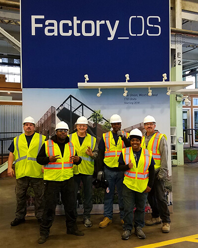 affordable modular homes factory os team