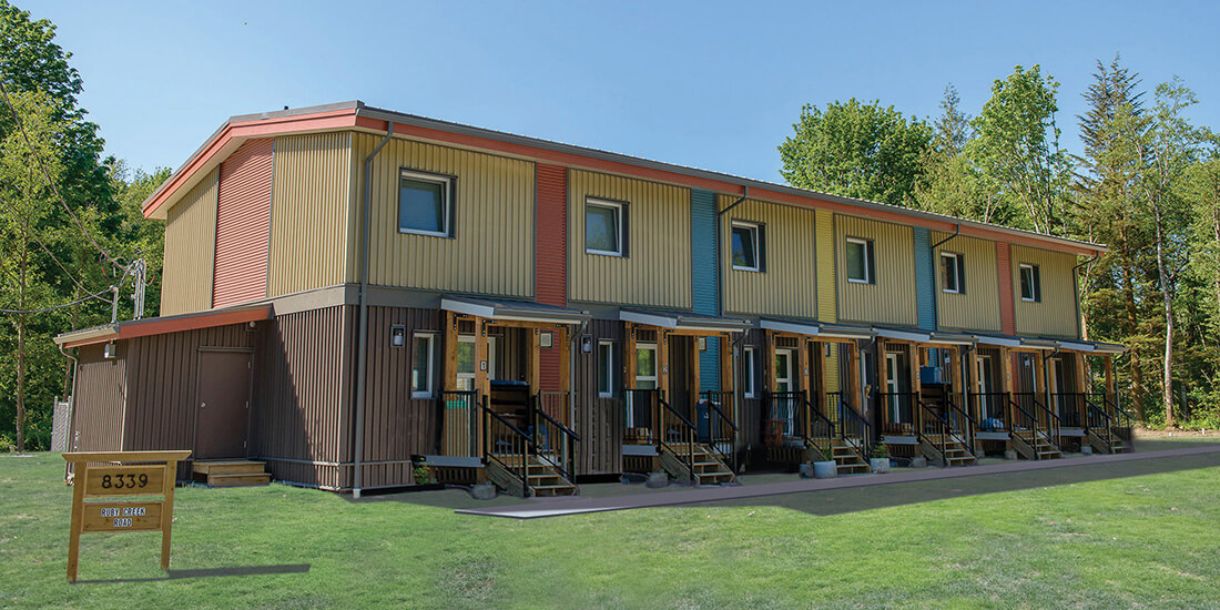 affordable modular homes passive house complex vancouver