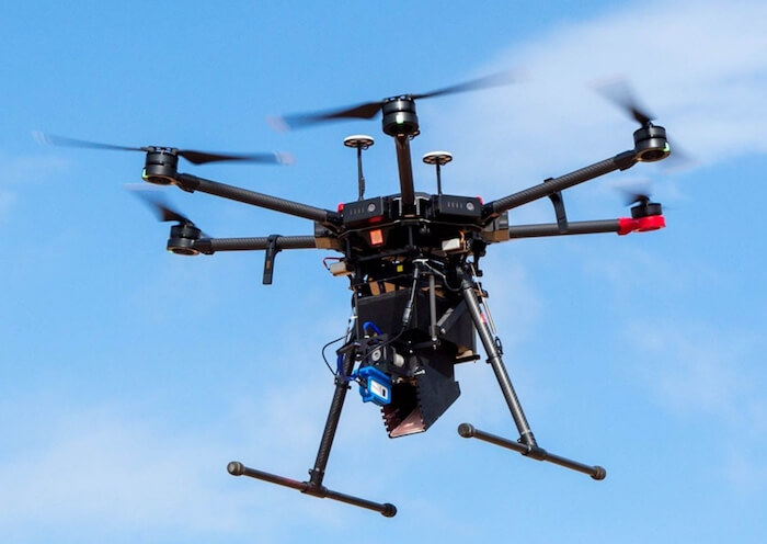 mosquito drone DJI M600