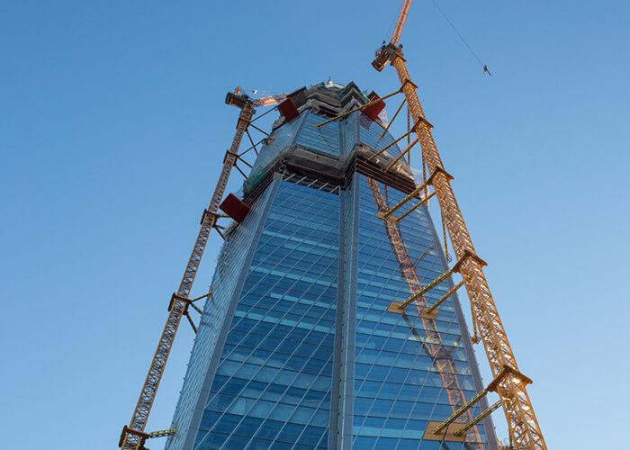 lakhta tower