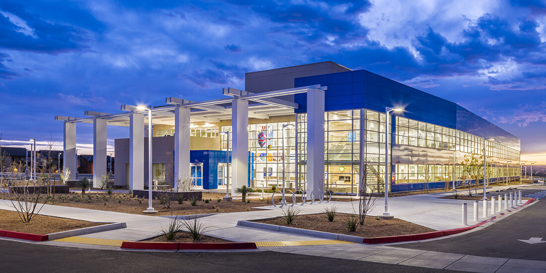 net zero buildings The DaVita Medical Group Sunport Healthcare Center