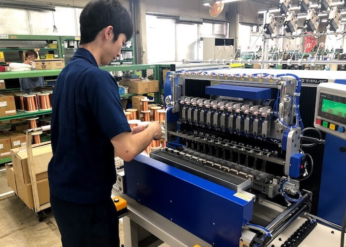 Small-component manufacturing in Japan