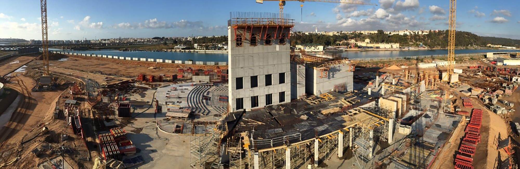 theatre rabat construction