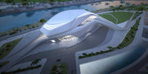 The Late Zaha Hadid Leaves Behind a Masterpiece (Theatre) in Rabat, Morocco