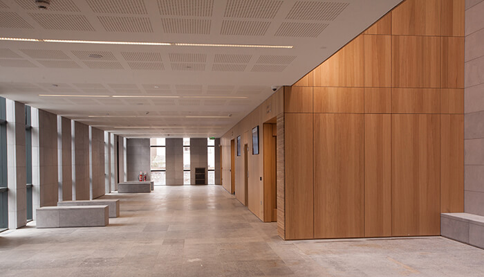 lean construction ireland bam cork courthouse lobby