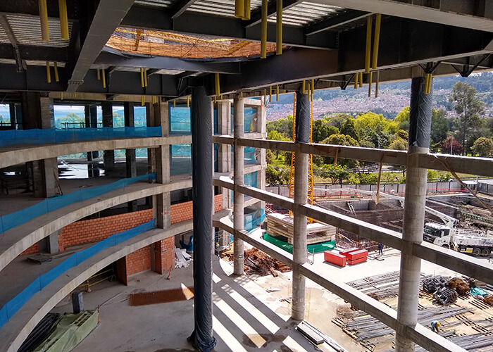 sustainable hospital design ctic under construction