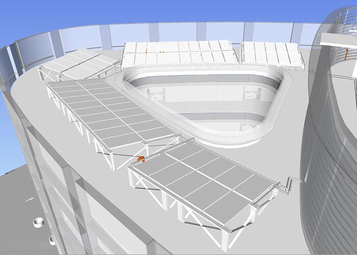 sustainable hospital design ctic solar panels