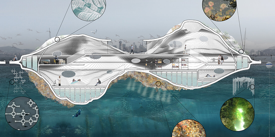 marine habitat floating lab cca