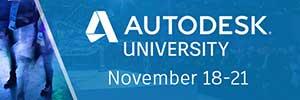 Autodesk University November 18–21, 2019
