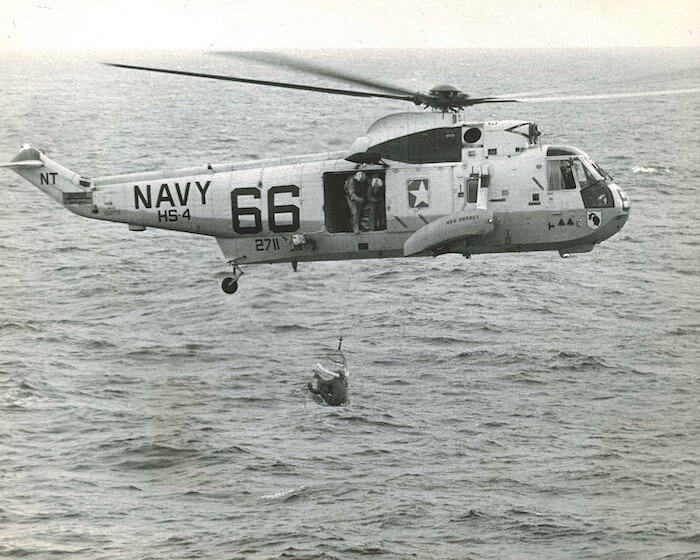 igor sikorsky helicopter apollo 11 recovery mission