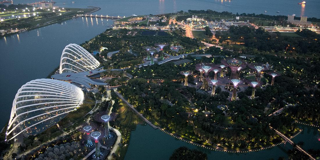 Example of urban nature in Singapore