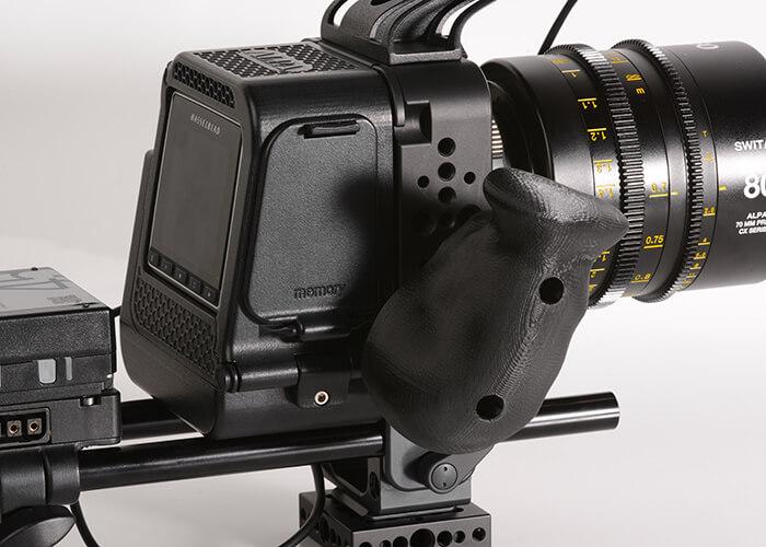 alpa camera custom made handle 3d printed